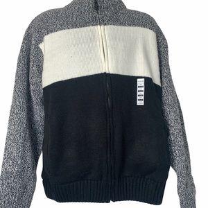 Haggar   Full Zip Fleece Lined Cardigan Size XXXL